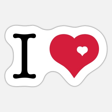 I Love i love - Sticker