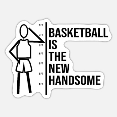 Rebound Basketball Shirt Funny Basketball Rebound Dunk - Sticker
