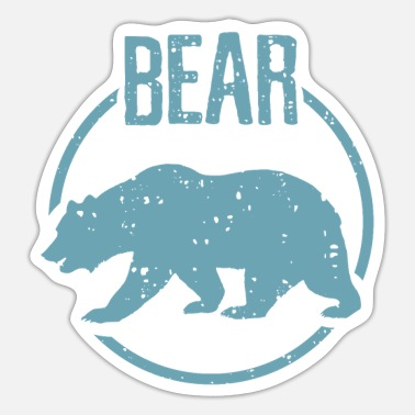 Bear Bear - Bear - Sticker