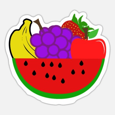 Fruit Tree Fruits - fruits - Sticker