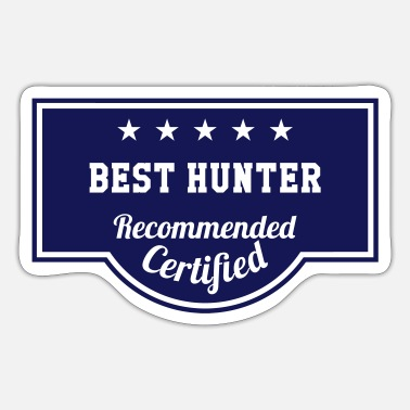 Caza Best Hunter - Sticker