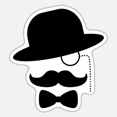 Sir gangster sir gangster sir - Sticker