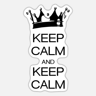 Keep Calm keep calm and keep calm - Sticker