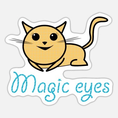 Kätchen Katze Mieze magic - Sticker