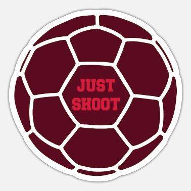 Shooter Just shoot - Sticker