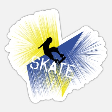 Skater Skate skaters - Sticker