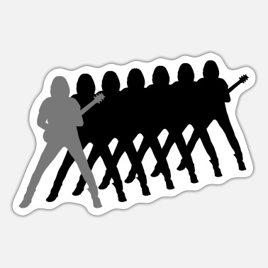 Guitarist guitarist - Sticker