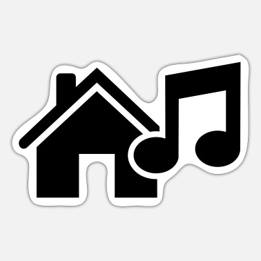House House Music - Sticker