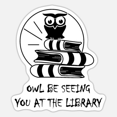 Library library - Sticker