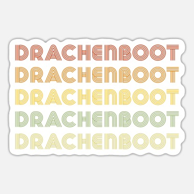 Dragon Boat Dragon Boat Dragon Boat Dragon Boat - Sticker