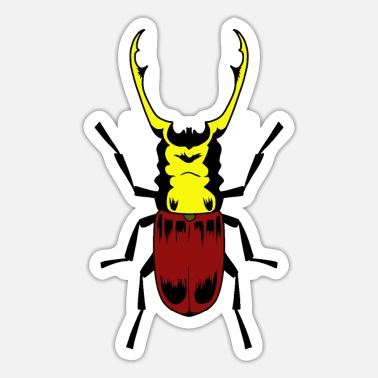 Insects Stag beetle insect insects - Sticker