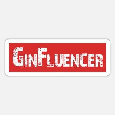 Allmächtig GinFluencer | Yolo-Artwork - Sticker