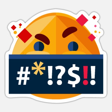 Emoji EMOJI # * !? $ !! - Sticker