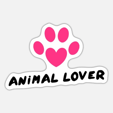 Animal Lover Animal Lover - Sticker
