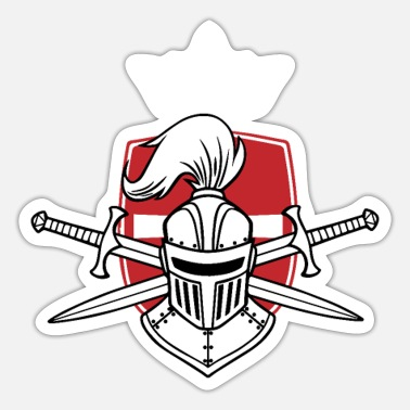 Crusade Crusader Knight Christianity Christian Crusade - Sticker