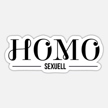 Sexuality homo sexually - Sticker