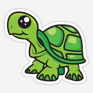 Schildi Schildi turtle - Sticker
