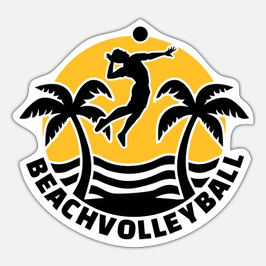 Beachvolleyball Beachvolleyball - Sticker
