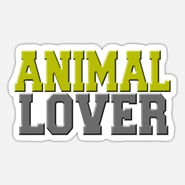 Animal Lover Animal lover - Animal lover - Sticker