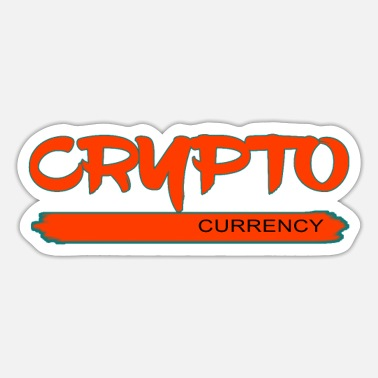 Valuta Crypto-valuta - cryptocurrency - Sticker