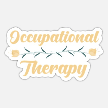 Occupation Occupational therapy occupation - Sticker