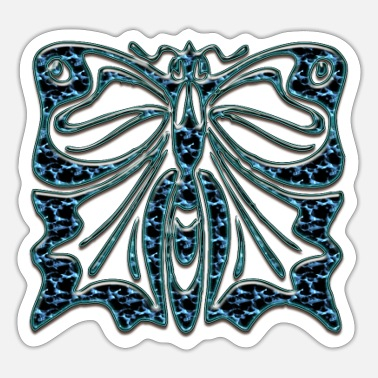 Noble Noble butterfly - Sticker