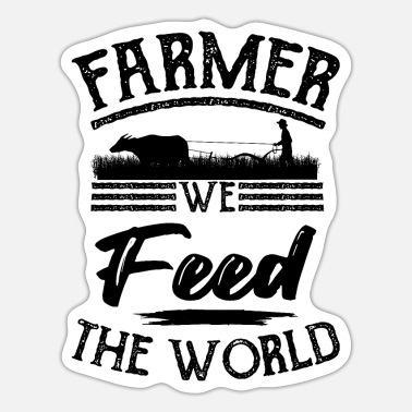 Farm Farm Agriculture - Sticker