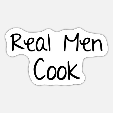 Cook Men Cook - Sticker