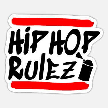Hip Hop Hip Hop Rap Musik - Sticker