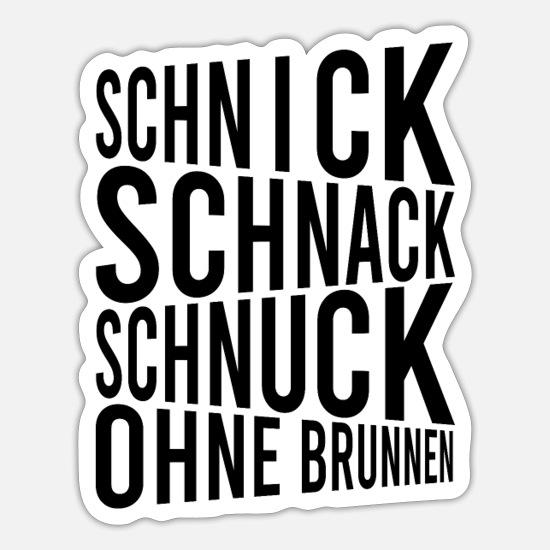 Schnack schnuck schnick 18+ Schnick