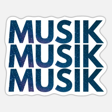 Music Music Music Music - Sticker