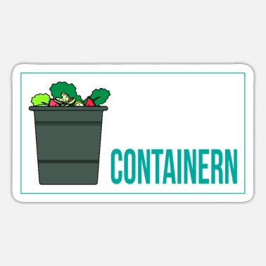 Container Containers Legalize Legalize Containers - Sticker