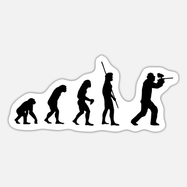 Paintball Evolution Paintball - Sticker