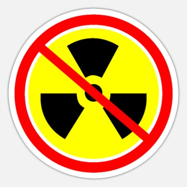 Nuclear Power Plant Anti nuclear power Castor nuclear power plants Gorleben demo - Sticker