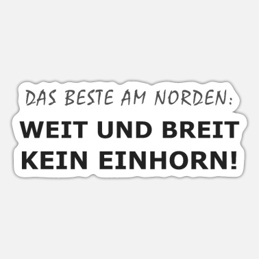 Nord nord - Sticker