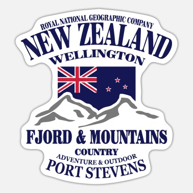 New Zealand New Zealand - Sticker