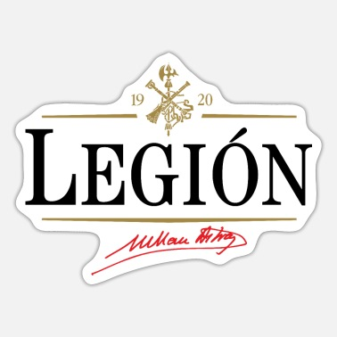 Legion Legion - Sticker
