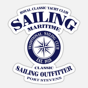 Maritim Maritime Sailing - Sticker