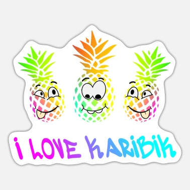 Caribbean Holiday Caribbean - Sticker