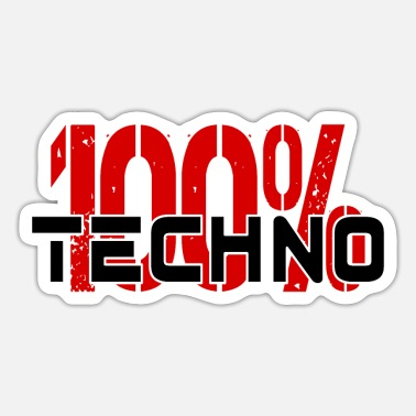 Techno TECHNO FESTIVAL - Sticker