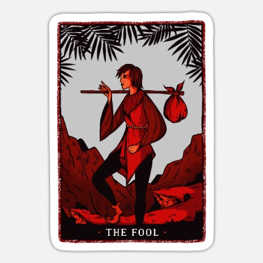 Tarot Card Tarot card - Sticker