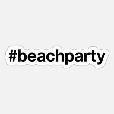 Beachparty BEACH PARTY - Sticker