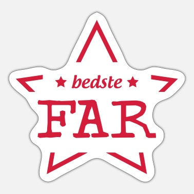 Bursdag Far / fars dag / familj / Papa / pappa / bursdag - Sticker