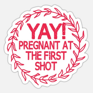 Baby Shower Pregnant baby shower - Sticker