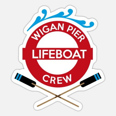 Pier Wigan Pier - Sticker