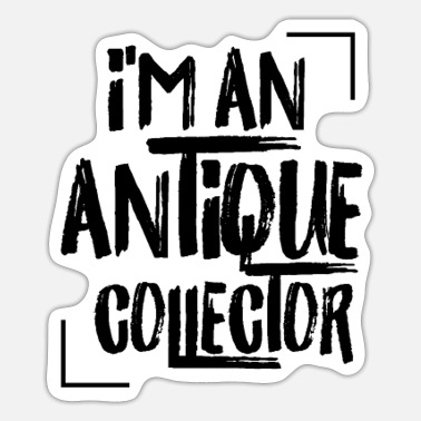Antique Antiques - Sticker