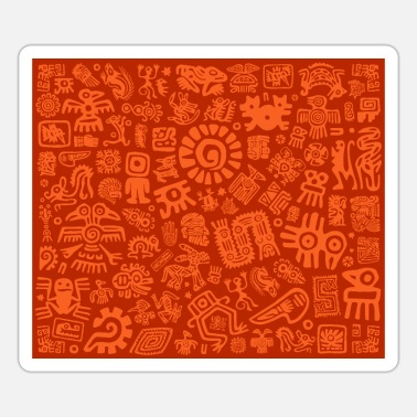 Pictograph Aztecs Mexico - Sticker