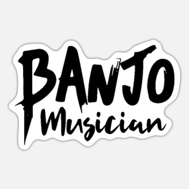 Banjo banjo - Sticker
