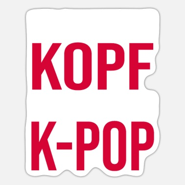 Kpop Community KPop K-Pop fan music gift - Sticker