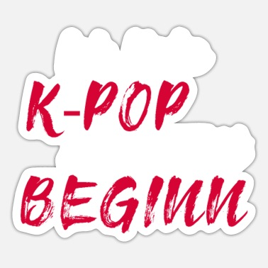 Kpop Community K-pop KPop music gift - Sticker